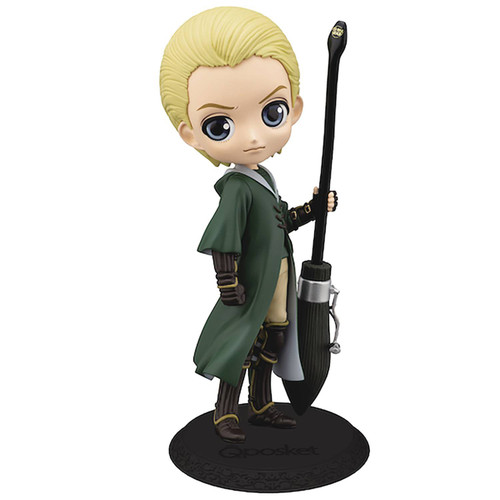 Harry Potter Q Posket Draco Malfoy 5.5-Inch Collectible PVC Figure [Quidditch Normal Color] (Pre-Order ships November)