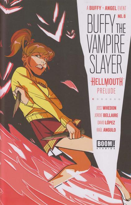 Boom Studios Buffy The Vampire Slayer #8 Comic Book [Daniele Di Nicuolo Variant Cover]