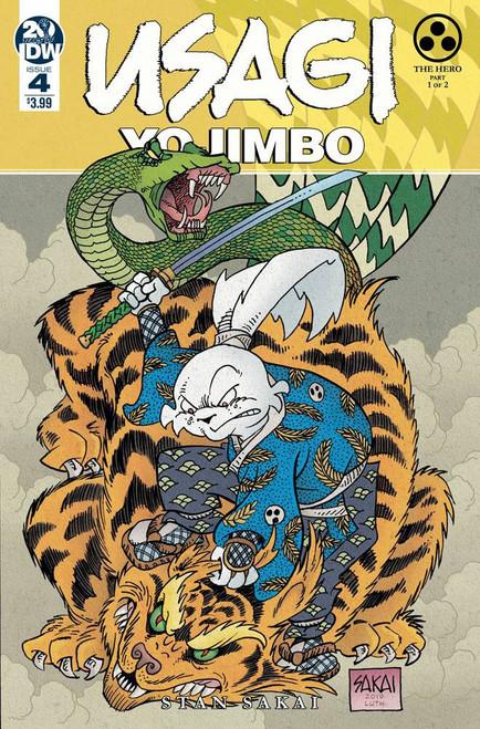 IDW Usagi Yojimbo #4 Comic Book