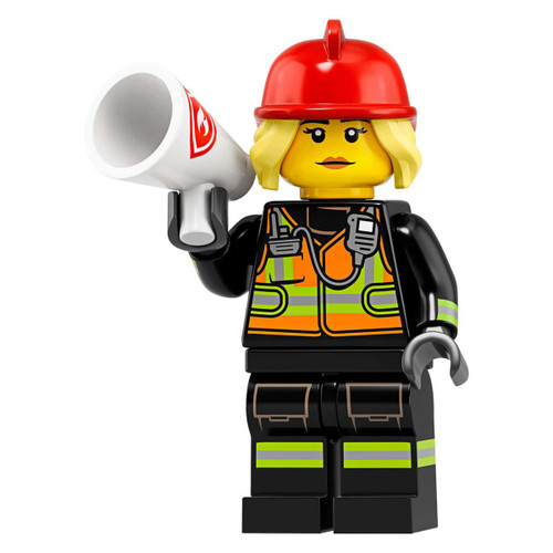 LEGO Minifigures Series 19 Fire Fighter Minifigure [Loose]
