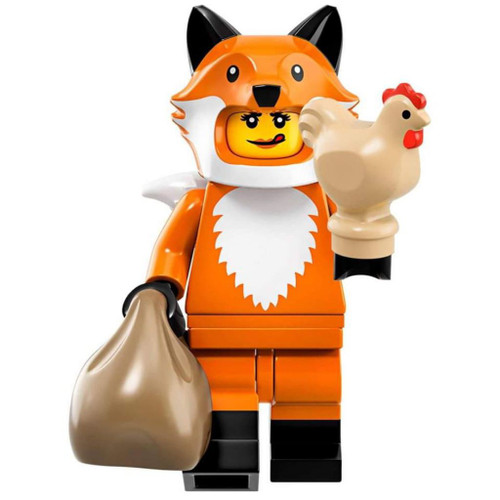 LEGO Minifigures Series 19 Fox Costume Girl Minifigure [Loose]