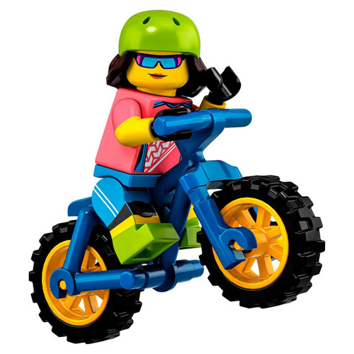 LEGO Minifigures Series 19 Mountain Biker Minifigure [Loose]