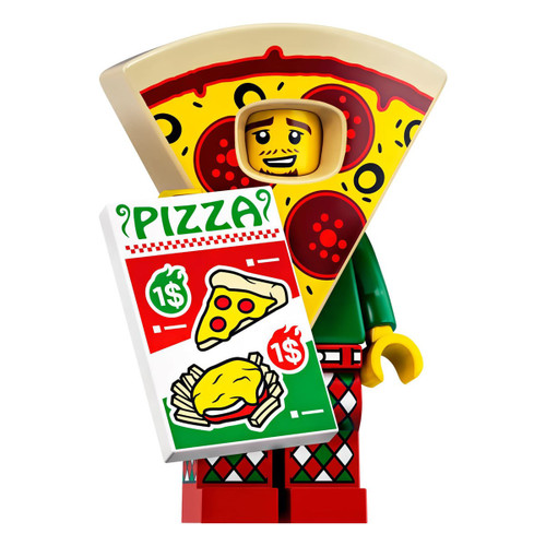 LEGO Minifigures Series 19 Pizza Costume Guy Minifigure [Loose]