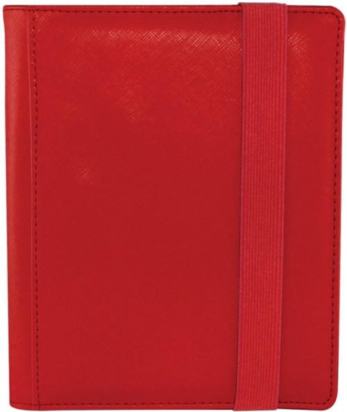 Card Supplies Dex Binder 4 Red 4-Pocket Binder