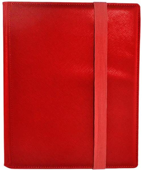 Card Supplies Dex Binder 9 Red 9-Pocket Binder