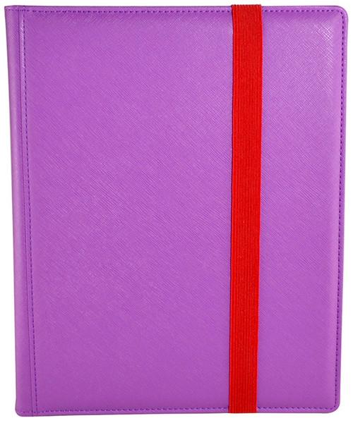 Card Supplies Dex Binder 9 Purple 9-Pocket Binder