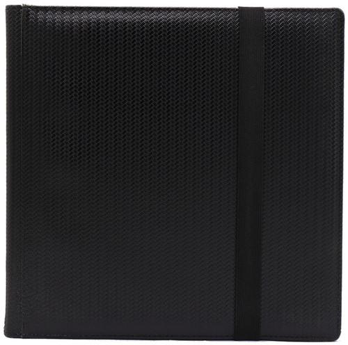 Card Supplies Dex Binder 12 Black 12-Pocket Binder [Limited Edition Black Suede Interior]