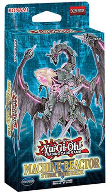 YuGiOh Trading Card Game Machine Reactor Structure Deck [Unlimited]