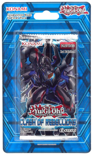 YuGiOh Trading Card Game Clash of Rebellions (1st Edition) Booster Pack [9 Cards]