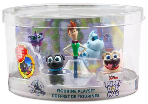 Disney Junior Puppy Dog Pals Exclusive 5-Piece PVC Figure Playset