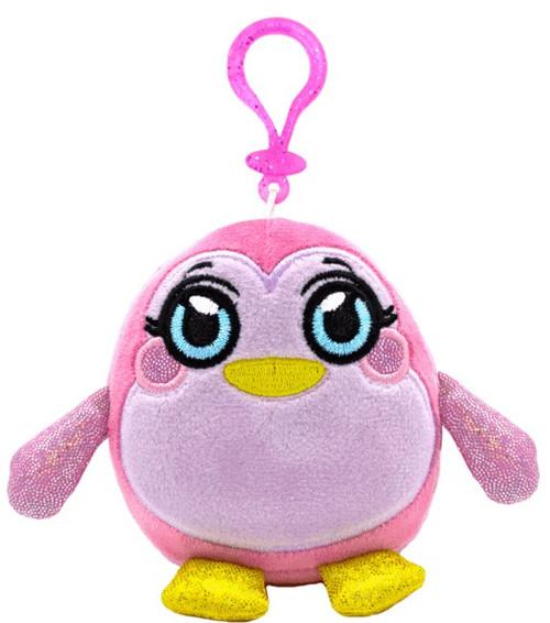 MushMeez Penguin 3.5-Inch Clip-On Plush