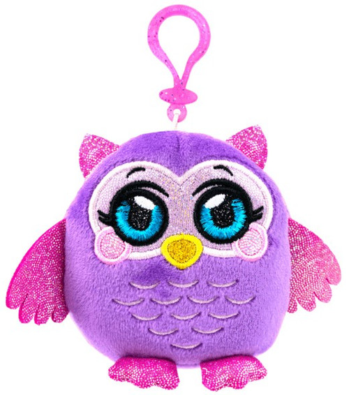 MushMeez Owl 3.5-Inch Clip-On Plush