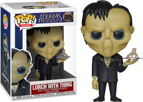 Funko The Addams Family POP! Movies Lurch with Thing Vinyl Figure #805