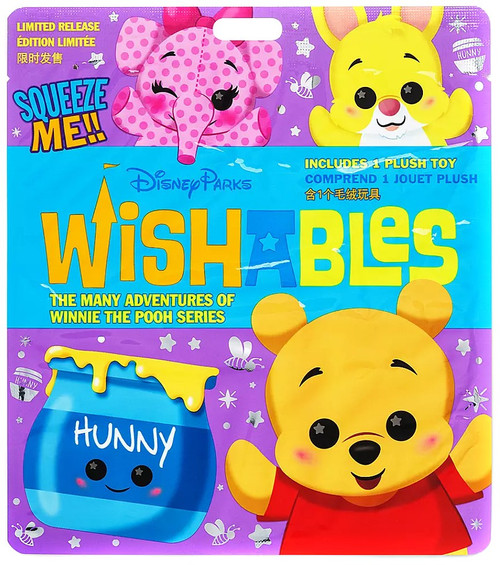 Disney Wishables Many Adventures of Winnie the Pooh Exclusive 5-Inch Micro Plush Mystery Pack [1 RANDOM Figure]