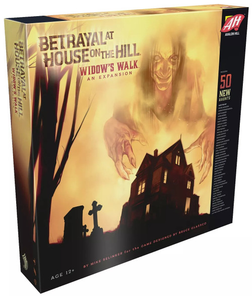 Betrayal at House on the Hill Widow's Walk Board Game Expansion