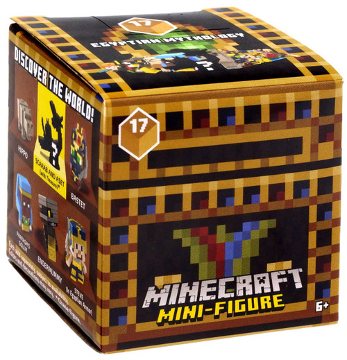 Minecraft Egyptian Mythology Series 17 Mystery Pack