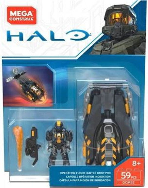 Halo Operation Flood Hunter Drop Pod Set