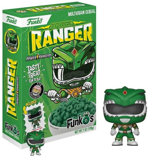 FunkO's Mighty Morphin Power Rangers Green Ranger Exclusive Breakfast Cereal [Damaged Package]