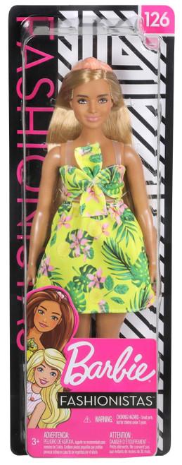 Fashionistas Barbie 13.25-Inch Doll #126 [Floral Dress]