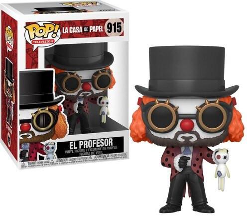 Funko Money Heist (La Casa De Papel) POP! TV El Profesor Vinyl Figure