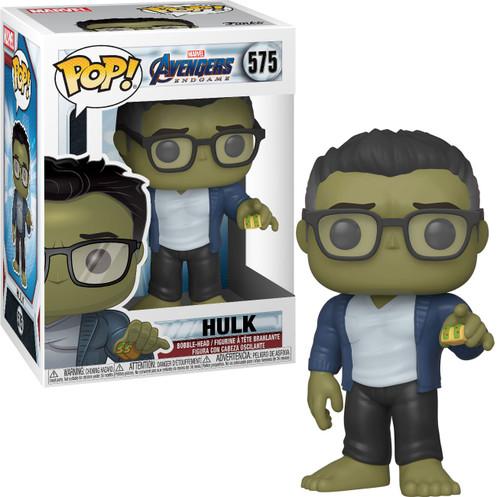 Funko Avengers Endgame POP! Marvel Hulk Vinyl Bobble Head #575 [Taco]