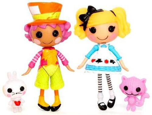 Wacky Hatter & Alice in Lalaloopsyland Mini Figure 2-Pack