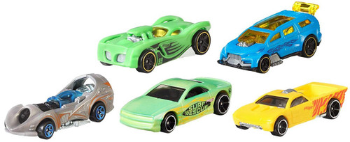 Hot Wheels Color Shifters Diecast Car 5-Pack [Version 1]