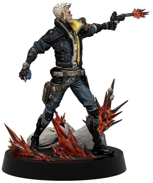 Figures of Fandom: Borderlands 3 Zane the Operative 10.2-Inch PVC Statue