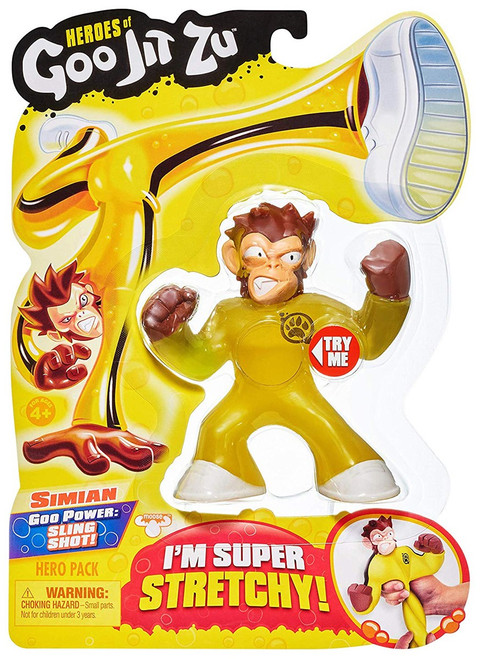 Heroes of Goo Jit Zu Simian Action Figure [Monkey]