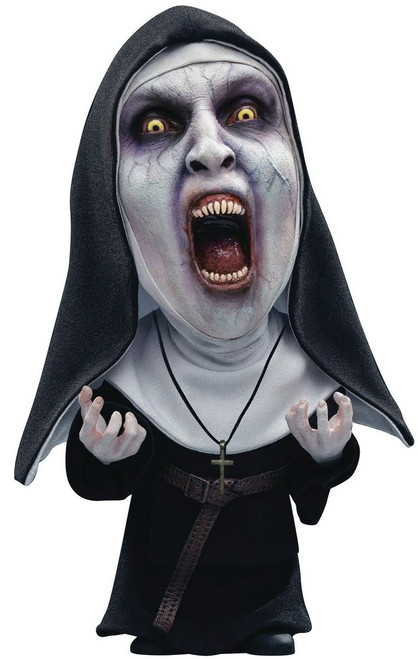 The Conjuring The Nun Deform Real Series Valak Nun (Mouth Open) 6-Inch Vinyl Figure [Deluexe Version]