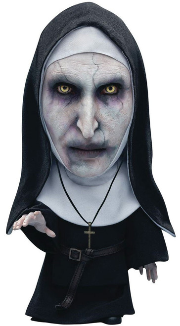 The Conjuring The Nun Deform Real Series Valak Nun (Mouth Closed) 6-Inch Vinyl Figure [Deluexe Version]