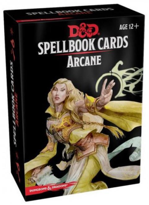 Dungeons & Dragons Arcane Spellbook Cards