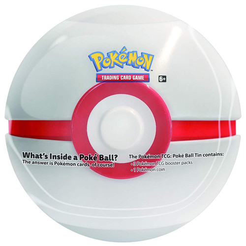 Pokemon Trading Card Game Premier Ball Tin Set