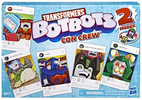 Transformers BotBots Con Crew Exclusive Mini Figure 10-Pack