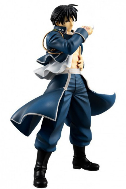 Fullmetal Alchemist Roy Mustang 7.9-Inch Collectible PVC Figure [Flame Alchemist, Damaged Package]