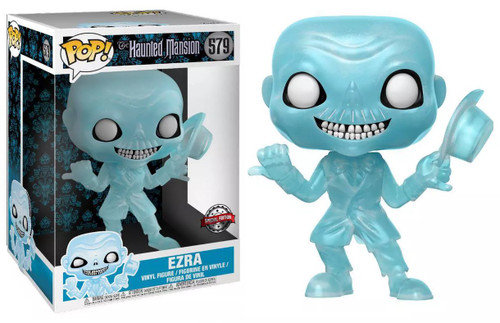 Funko Haunted Mansion 50th Anniversary POP! Disney Ezra Exclusive 10-Inch Vinyl Figure [Super-Sized]