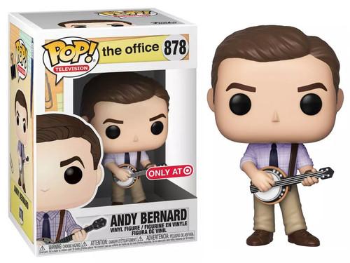Funko The Office POP! TV Andy Bernard Exclusive Vinyl Figure #878
