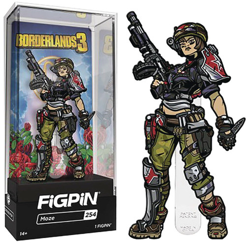 Borderlands 3 FiGPiN Moze 3-Inch Collectible Pin #254