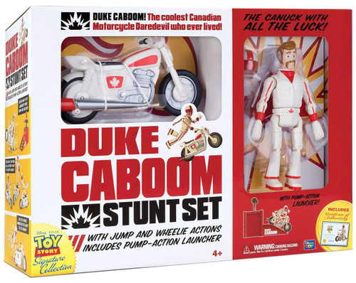 Toy Story Signature Collection Duke Caboom Stunt Set Exclusive 7-Inch Playset