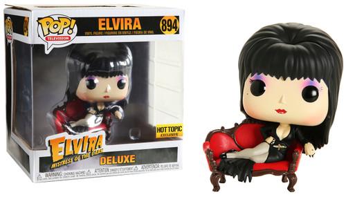 Funko Elvira, Mistress of The Dark POP! TV Elvira Exclusive Deluxe Vinyl Figure #894