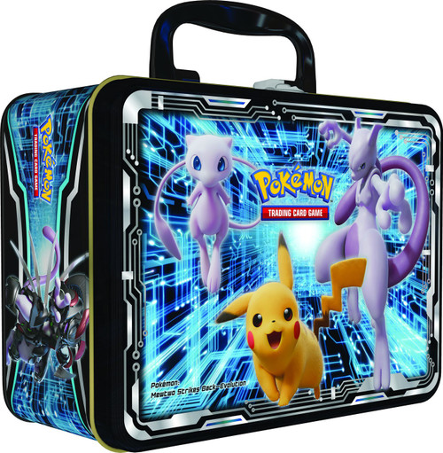 Pokemon Trading Card Game 2019 Collector's Chest Armored Mewtwo, Pikachu & Charizard Tin Set [5 Booster Packs, 3 Promo Cards, Mini Portfolio, Coin & More!]