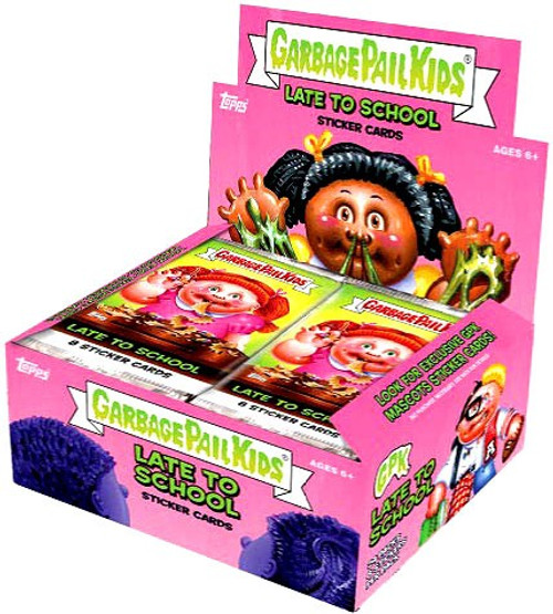 Garbage Pail Kids Topps 2020 Series 1 Late To School Trading Card Sticker Box [24 Packs]