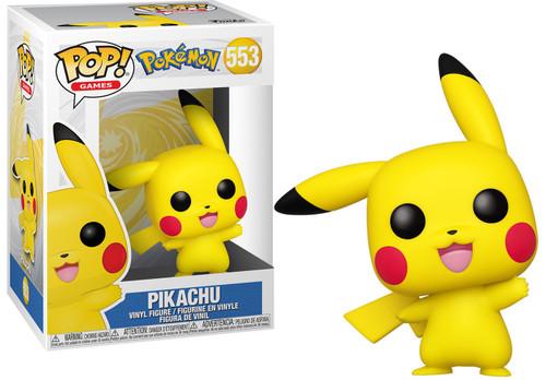 Funko Pokemon POP! Games Pikachu Vinyl Figure #553 [Waving]