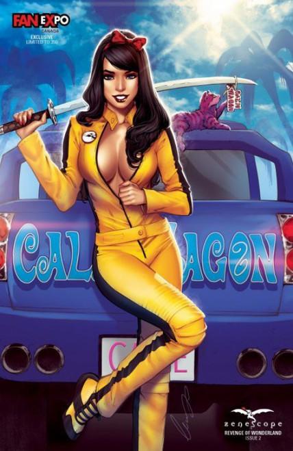 Zenescope Revenge of Wonderland #2 Limited to 350 Comic Book [Fan Expo Toronto Exclusive Elias Chatzoudis Variant Cover ]