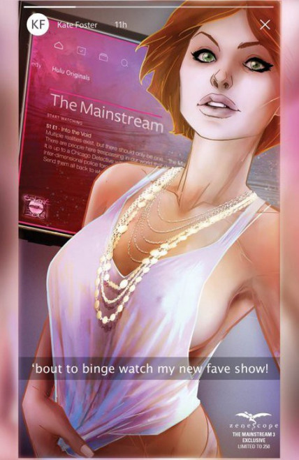 Zenescope The Mainstream #3 Limited to 250 Comic Book [Zenescope Exclusive Variant Cover ]
