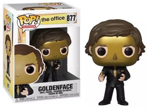 Funko The Office POP! TV Goldenface Exclusive Vinyl Figure #877