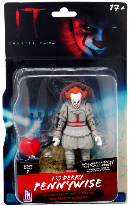 IT: Chapter Two Series 1 I (Heart) Derry Pennywise Action Figure