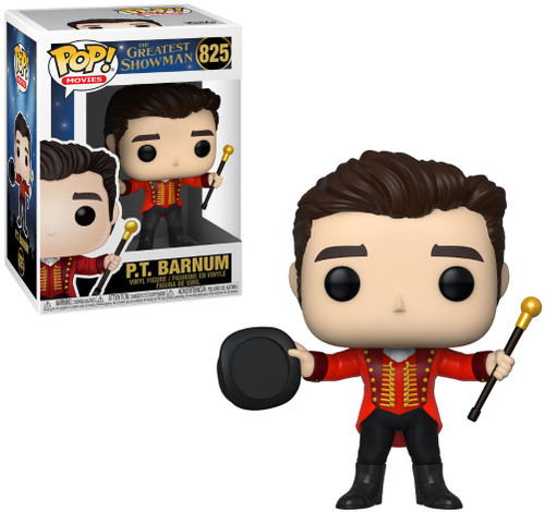 Funko The Greatest Showman POP! Movies P.T. Barnum Vinyl Figure #825