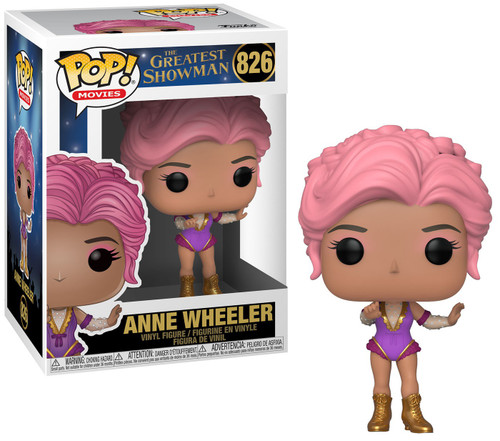 Funko The Greatest Showman POP! Movies Anne Wheeler Vinyl Figure #826
