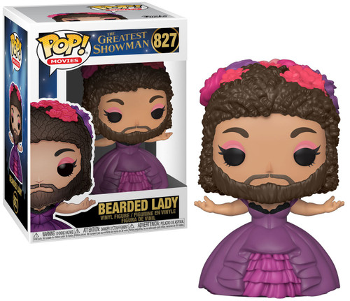 Funko The Greatest Showman POP! Movies Bearded Lady Vinyl Figure #827